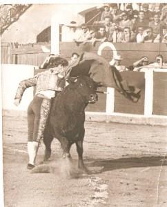 """Presentación con caballos de """"El Zurdo""""."""