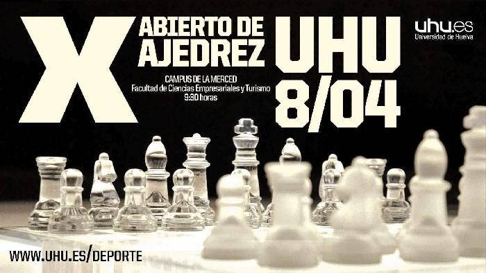 El Abierto de Ajedrez de la Universidad de Huelva celebra este sábado su X edición