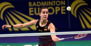 Carolina Marín accede a las semifinales del Campeonato de Europa de bádminton. / Foto: Bádminton Europe.