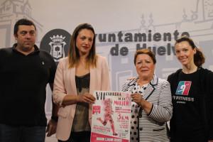 Presentación de la Carrera de la Mujer.