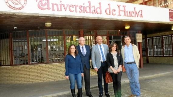 El profesor de Economía Financiera, Juan José García Machado, presenta su candidatura a Rector de la Universidad de Huelva