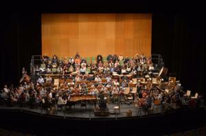 Numerosos músicos se reunieron en Santander.