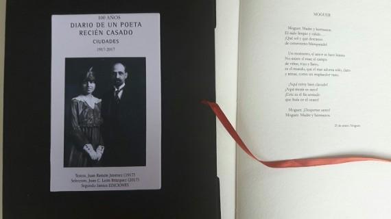 El onubense Juan Carlos León Brázquez homenajea a Juan Ramón con un libro exclusivo
