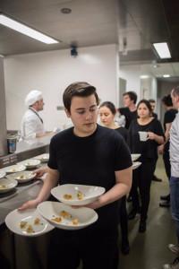 Carlos está haciendo segundo del Grado de Gastronomía y Artes Culinarias.