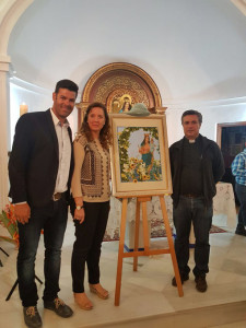 Presentación del cartel de la romería 2017.