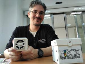 El onubense José María González, inventor de Pibox.