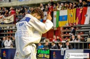 El judoca almonteño, Rosendo Laíno.