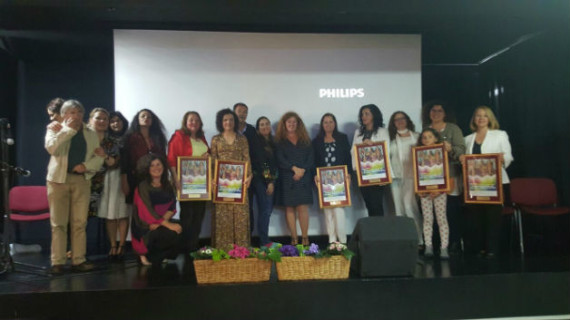 El II Congreso 'Emprendedoras de palabra, obra y pincel' finaliza en Mazagón con un emotivo homenaje a mujeres únicas