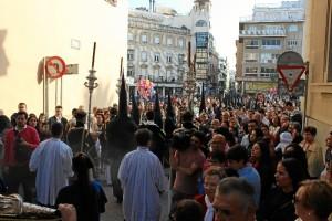 La mayoría de los hermanos que procesionan, pertenecen o han pertenecido al Colegio de las Agustinas.