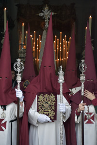 La Hermandad de la Merced es la única que sale de la Catedral.