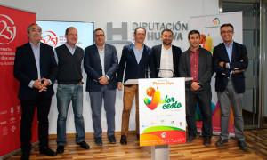 Un momento de la presentación del  evento deportivo que tendrá lugar en Moguer.