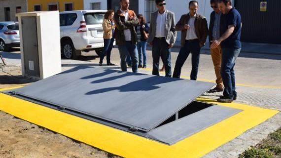 Hinojos presenta una innovación nacional en gestión de contenedores de basura