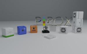 PiBOX cuenta con una completa gama de accesorios.