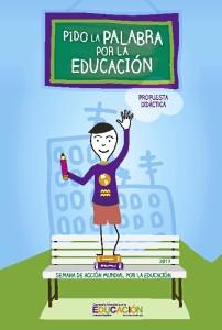 El lema de este año es 'Pido la palabra por la educación'.