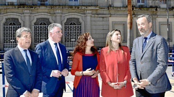 La Junta invertirá 6,3 millones en la rehabilitación de su nueva sede administrativa en la Plaza de la Constitución de Huelva