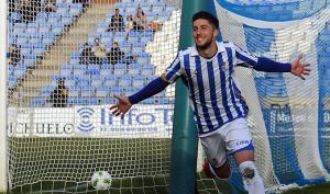 El Recre se aferra en la capacidad goleadora de Antonio Domínguez para ganar en Granada.