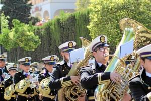 El acompañamiento musical corre a cuenta de la Banda de la Expiración.