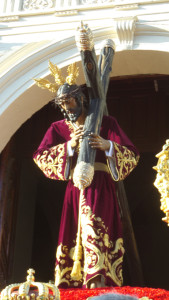Salida de Jesús de la Pasión.