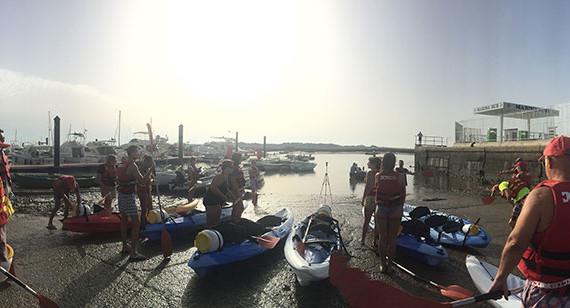 El próximo Sábado Deportivo de Islantilla propone una subida del río Piedras en kayak