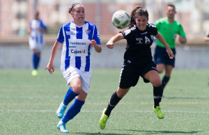 El Fundación Cajasol Sporting quiere repetir en Barcelona la imagen mostrada ante el Zaragoza la semana anterior. / Foto: www.lfp.es.