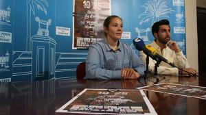 Un momento de la presentación de la II Wild World Race, que tendrá lugar en Valverde del Camino el próximo 29 de mayo.