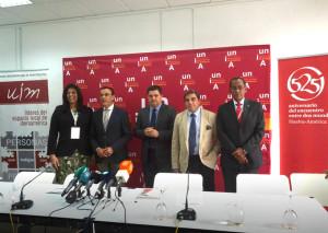 Algunos de los presentes en el XXII Encuentro Iberoamericano de Autoridades Locales.