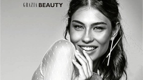 La modelo onubense Carmen Santacruz copa ya las portadas de las principales revistas de moda