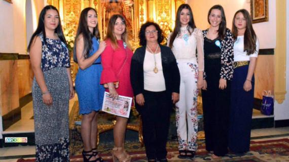 Beas presenta a las Damas de la Romería de Clarines 2017
