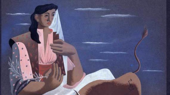El Museo Reina Sofía nos muestra el dibujo de José Caballero que fue adjudicado por error a Dalí