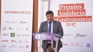 Intervención del alcalde de Huelva, Gabriel Cruz. / Foto: Manu Rodríguez.