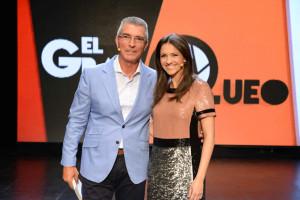 Junto a Manolo Sarria en 'El Gran Queo'.
