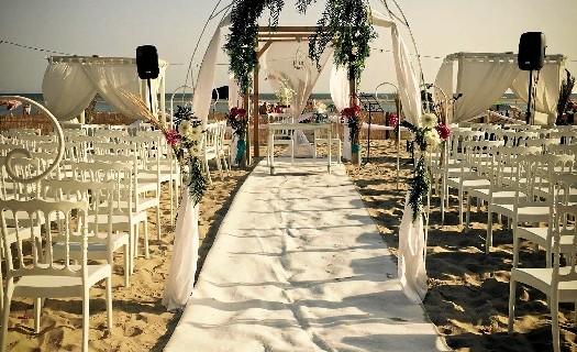 Cuando la luz de Huelva y el mar se convierten en un escenario natural de ensueño donde celebrar un momento especial