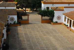 Un modelo tradicional en Huelva para celebraciones son las fincas y cortijos.