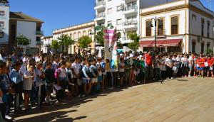 Comenzaron las Olimpiadas Escolares en San Juan del Puerto.