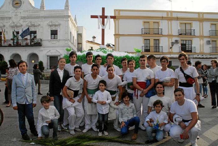 Concurso infantil de cruces de mayo.