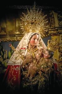 Virgen de la Peña. / Foto: Emilio Romero.