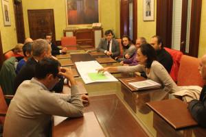 Mesa de Contratación del Ayuntamiento de Huelva.