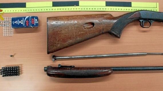 Detenidas cuatro personas por un robo perpetrado en una finca de caza en Aracena