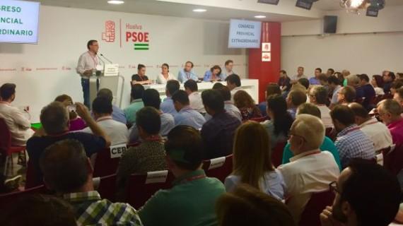 El PSOE de Huelva elige con el 90% de apoyo a los 18 delegados para el 39 Congreso Federal