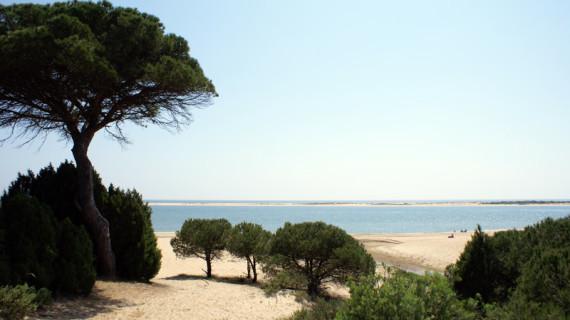Caño de la Culata, en Cartaya, una de las 20 playas más alucinantes de España