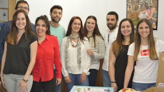 La asociación 'Aire Libre' recibió al alumnado y profesorado del Máster de Educación Especial de la Universidad de Huelva