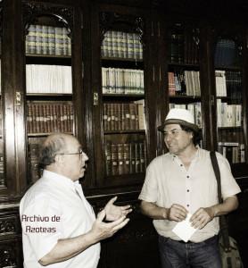 Biblioteca de Corrales. Presidente y Señor de la Morena. Archivo de Azoteas. / Imagen: Fotoespacios.