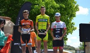Carlos Rodríguez Cano, en lo más alto del podio.