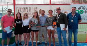 Las campeonas del torneo celebrado en la localidad jiennense de Alcaudete.