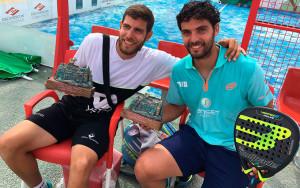 El malagueño Fran Tobaria y el jiennense Antonio Luque fueron los vencedores en el cuadro masculino.