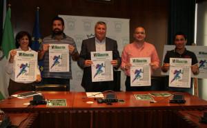 Un momento de la presentación de la VI Media Maratón 'Ruta Hoteles de Cartaya'.