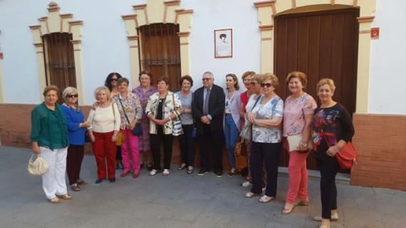 100 años de la visita de Concha Espina a Nerva