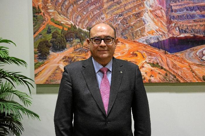 José Luis Leandro Rodríguez, Decano del Colegio de Huelva, Sevilla, Cádiz, Cáceres, Badajoz y Canarias.