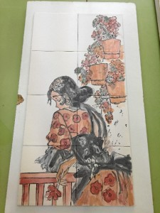 Rosa Esther descubrió la cerámica en 1997.