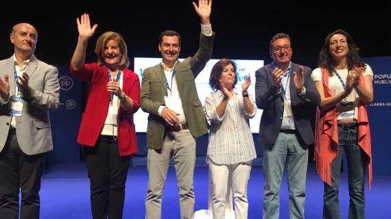 Manuel Andrés González, reelegido para su tercer mandato como presidente del PP con el apoyo del 96,9% de los votos